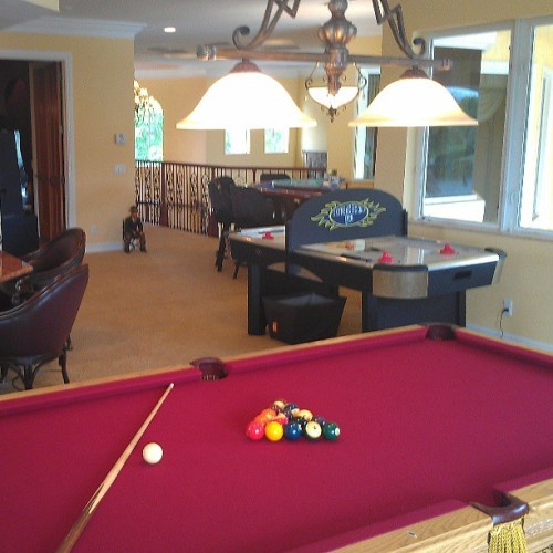 You should see the game room in this house? Contact me for more information on any real estate opportunities in Coral Springs, Florida #ColdwellBanker #RealEstate #LuxuryRealEstate #CoralSprings