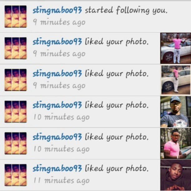 S/o to my young shoota.Kris. Thanks for the love. Everybody follower her now @stingnaboo93