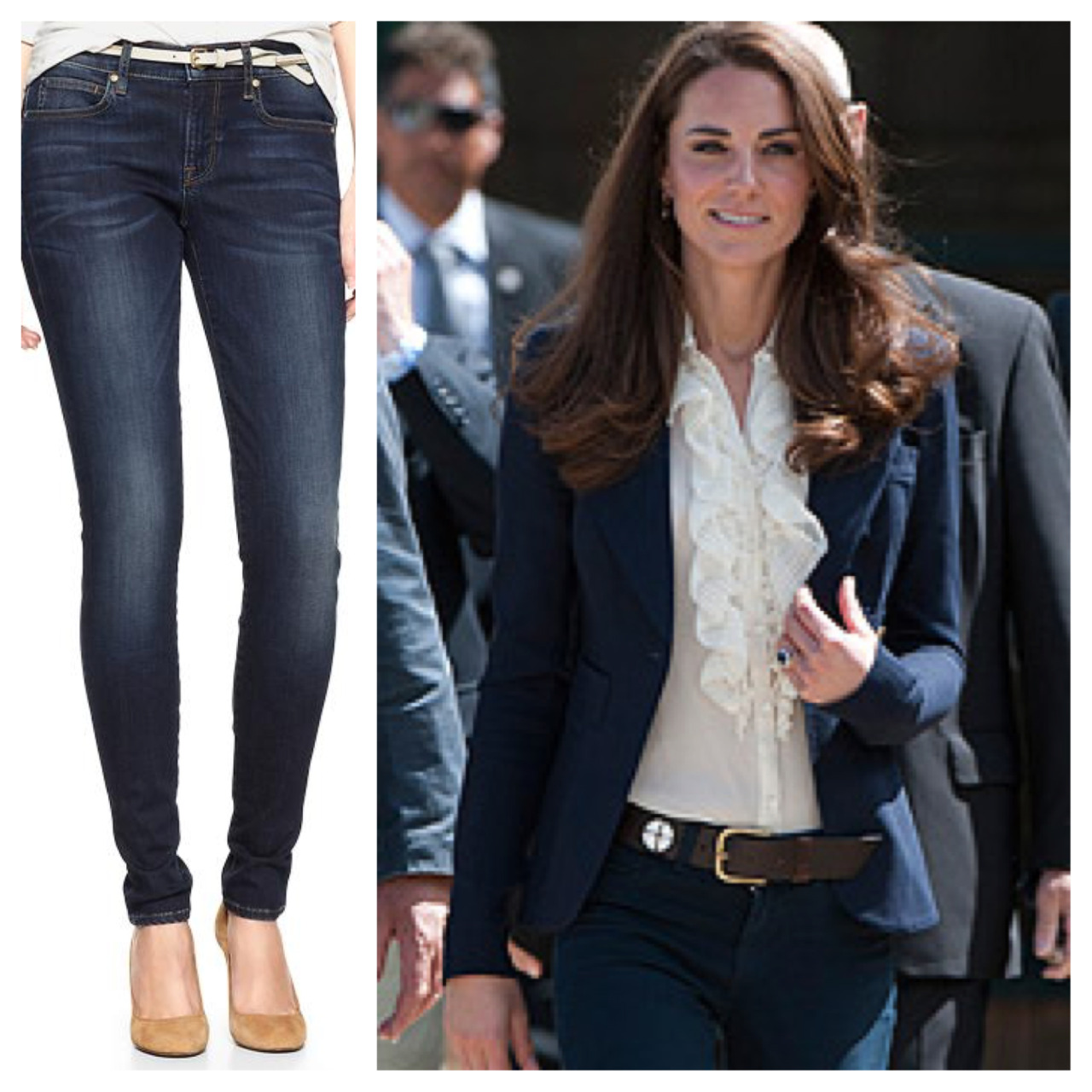 Kate Middleton Shops at Gap, Too, Crabtree & Evelyn Launch their First Nail Polish Collection, and More We know it's silly, but we officially love the Duchess of Cambridge. She shops for jeggings at Gap—just like us. [Huffington Post] Crabtree & Evelyn is the latest beauty brand to get into the polish game. [SheFinds] Still trying to learn the topknot? Find inspiration in Jennifer Lopez's coiffure from the weekend. [Glamour] Vanity Fair heads to France! The magazine will launch its French edition this July. [WWD] Lea Michele debuts an extreme ombre hairstyle at the Screen Actors Guild Awards. [UsMagazine.com] Don't miss the top beauty and fashion trends for the coming year: here's what's in and what's out for 2013. [Beauty Blitz] —Charisse Learn about even more ways to style the topknot, inspired by Katie Gallagher's spring 2013 runway.