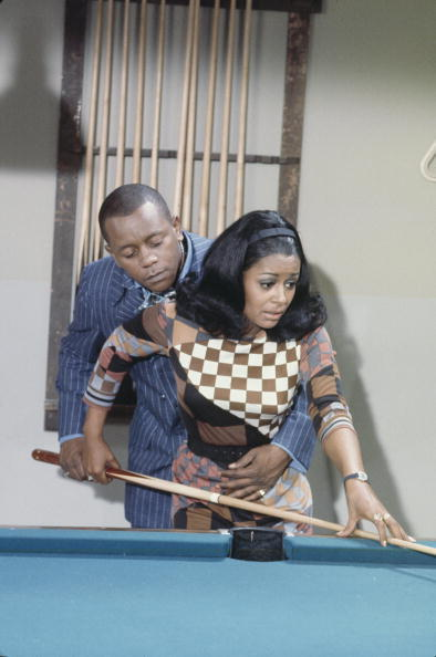 "Flip Wilson and Gail Fisher guest starring on an episode of ""Love, American Style"" called ""Love and the Hustler."" This show aired one month before I was born, on September 29, 1969, but I definitely remember watching ""Love, American Style"" in repeats. I wonder if it still holds up today? Hmmm….  I'm sure most of you know the iconic comedian Flip Wilson, but Gail Fisher was an actress best known for her Emmy-winning role as Peggy Fair, secretary to a detective, in the groundbreaking television series, ""Mannix."" Photo: ABC Photo Archives/ABC via Getty Images."
