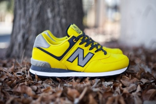 "New Balance 574 ""Windbreaker"" Yellow"