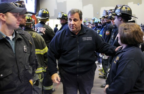 "New Jersey governor on Sandy relief bill: 'Shame on Congress' New Jersey Gov. Chris Christie is blaming House Republicans for delaying a vote on federal funding for states affected by Superstorm Sandy.""There is only one group to blame for the continued suffering of these innocent victims: the House majority and their speaker, John Boehner,"" Christie said. Christie said leaders in Washington had assured him and New York Gov. Andrew Cuomo the funding votes would happen on Tuesday or Wednesday. The decision not to hold the vote was Boehner's, he said. Read more from CNN. Follow additional updates on BreakingNews.com.Photo: Christie and Lt. Governor Kim Guadagno visit and thank first responders after touring flood damaged areas in Moonachie, N.J., on Nov. 1, 2012. (Tim Larsen / Office of the Governor)"