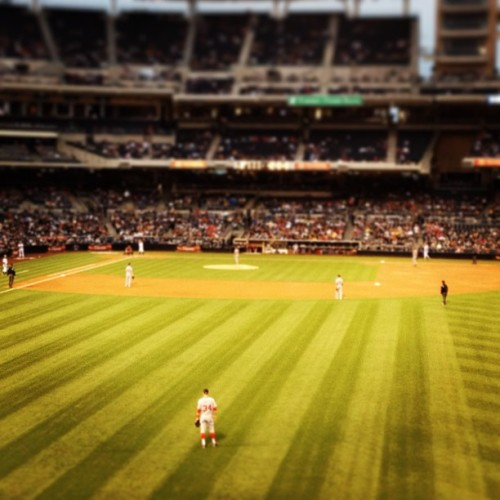 A little bit of home in San Diego. Go Nats! (at Petco Park)