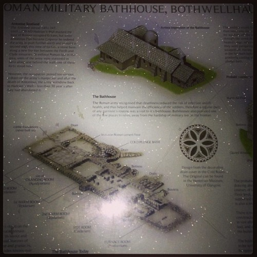 Roman Baths #StrathclydePark (at Strathclyde Country Park)