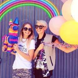 Us reliving our childhoods for @piper_piper's 25th birthday!! 🎈🌈
