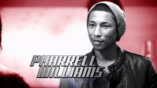 Soooooo excited to see Pharrell on The Voice this week helping Usher coach his team. Love him. Love his face. Love his voice. Love his style. Love his music. He seriously is one of the most beautiful men I've ever laid eyes on. Little known fact…I've had two (yep, two) moments with Pharrell. One, at Coachella…god only knows what year…one of the first ones…where he came out to the side of the stage and started signing stuff for people…I made his Virginia Beach/N.E.R.D./Star Trek hand gesture and we made eye contact. His smile was fantastic.  But more importantly, in 2004 the Black Eyed Peas and N.E.R.D. played a show at the Wiltern that a bunch of us went to. At the time, Justin Timberlake had songs with both bands so he came out and did some songs with them. At the end of the show, they told people they could jump up on stage for the last song (I can't even remember what it was…), so I did…and while everyone else made a beeline for JT, I went straight to Pharrell…told him I was from Virginia Beach and he hugged me. In my mind, we also spun around on stage while we were hugging…but that might just be a dream…I do know I was up there barefoot and I never found those shoes. Ahhhh…the memories. P.S. I will be blogging The Voice once it gets down to regular competition rounds…right now there are just too many people with too many cuts to be made. I don't want to get too invested.