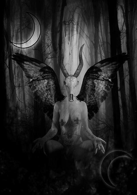 aryadepressive:  BAPHOMET THRONE