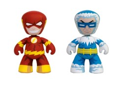 Out in late 2012, these tiny figures are Mini Mez-Itz by Mezco.  They're only two inches tall and obviously don't have much articulation, but their small size makes them very cute.  They're sold in a two-pack together and Cold has a gun he can hold. For some reason these figures were delayed by over a year and are apparently not available in Canada (I ordered mine through the US).