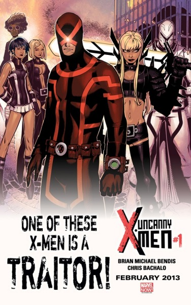 crashbaby:  Uncanny X-men#1 One Of This X-Men Is A Traitor!
