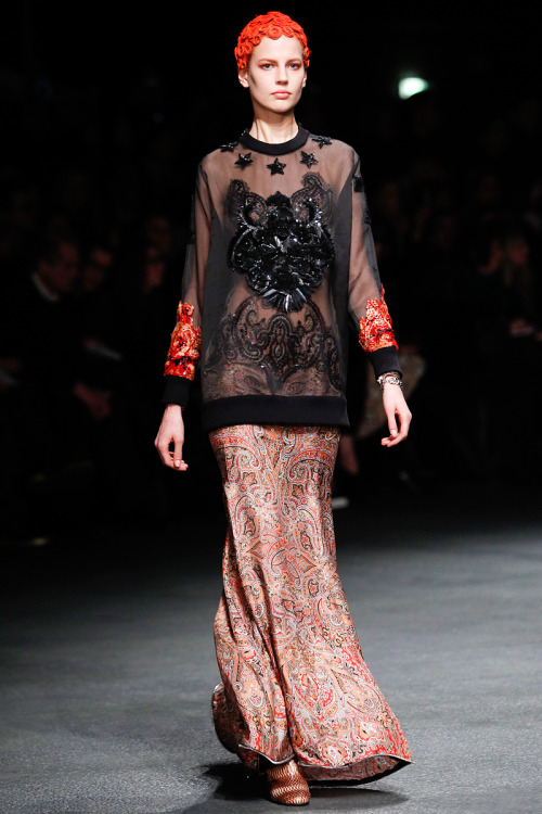 Givenchy Fall RTW 2013. Paris Fashion Week