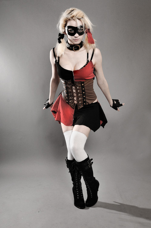 ratemycosplaynet:  @alexakarii with a lovely Harley Quinn #cosplay. Mr J would be proud! https://www.facebook.com/AlexaKariihttp://donttellme.deviantart.com/ Need links to our Social Media sites? Check out http://www.ratemycosplay.net Sharing the cosplay for you!