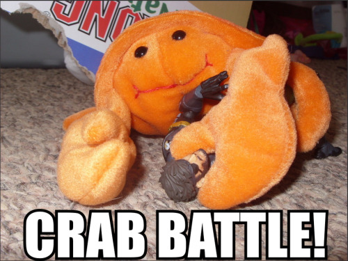 osakandestroyer:  CRAB BATTLE!