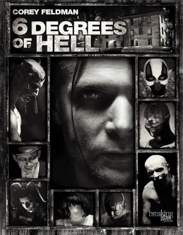 6 Degrees if Hell (2012)  Six people and their lives are stitched together by a supernatural force that has laid claim to one of them. A Halloween haunted establishment is ground zero for a paranormal perfect storm inadvertently touched off by a seemingly random series of events.  Paranoir review: ok so i'm just going to be straight up honest with you all and say, this movie was around a 90 minute run time, the first hour was alot of cheesy, weird, not much structure and badly strung together scenes but the last half an hour was one of the best half an hours of my life!! It reminded me alot of Cabin in the Woods - it's a bit weird/slow/boring even crappy and then BAM A MASSIVE LOAD OF AWESOME ALL OF A SUDDEN OUT OF NOWHERE!! (I'm obviously referring to the underground lab part) but yeah this movie was done on a rather low budget so I have read which is quite obvious at the start but boy is the ending fun and chaotic and I just adored it! It also helped them that they filmed the ending in an actual running haunted house attraction with all the staff actors/performers who work there all the time playing their roles. Overall yes this movie was pretty terrible for two thirds but the last bit was awesome and totally makes sitting through the start worth it!   Rating: 2/thirds of the movie = neutral and the last third obviously a favourite!! Yes I say it is possible!   Remember if you watch a movie you found through my reviews let me know what you thought!
