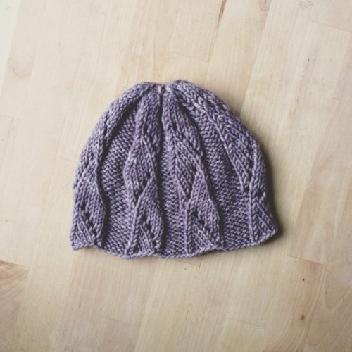 Another hat, for another special little lady.