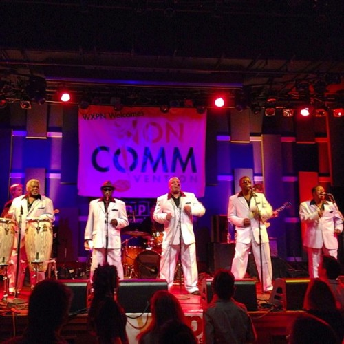Wow! The Relatives closing out #Noncomm 2013 @wxpnfm