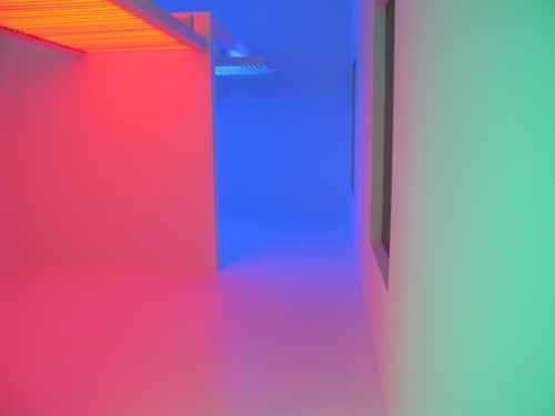 Suprasensorial. Experiments in Light, Color, and Space, by Carlos Cruz Diez at The Museum of Contemporary Art (MOCA) LA
