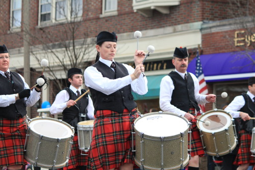 Patriot's Day parade. And yes, I have drum envy. Massachusetts, 2013
