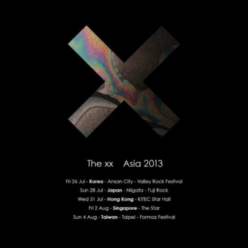 THE XX ASIAN TOUR 2013!!! AAAAHHHH!!!
