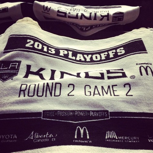 trikuza:  Game 2 lets go boys #GKG #LAKings