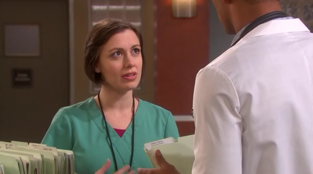 Whitney Avalon (with Nathan Owens) in DAYS OF OUR LIVES on NBC.