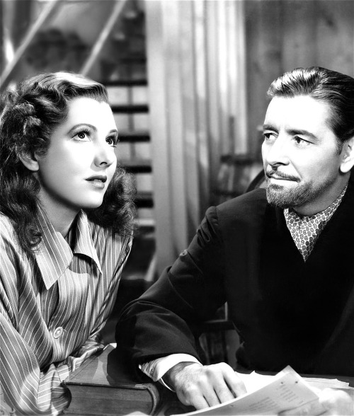 Jean Arthur and Ronald Colman in Talk of the Town (1942).