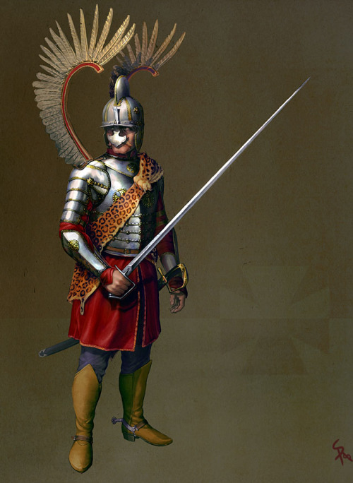 coley-kun:  I wish I could be a winged hussar ;_;