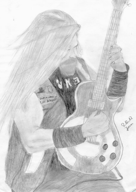 my Zakk Wylde drawing :)