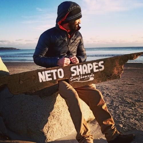 New sign, old boyfriend. <3 Neto Shapes Surfboards.
