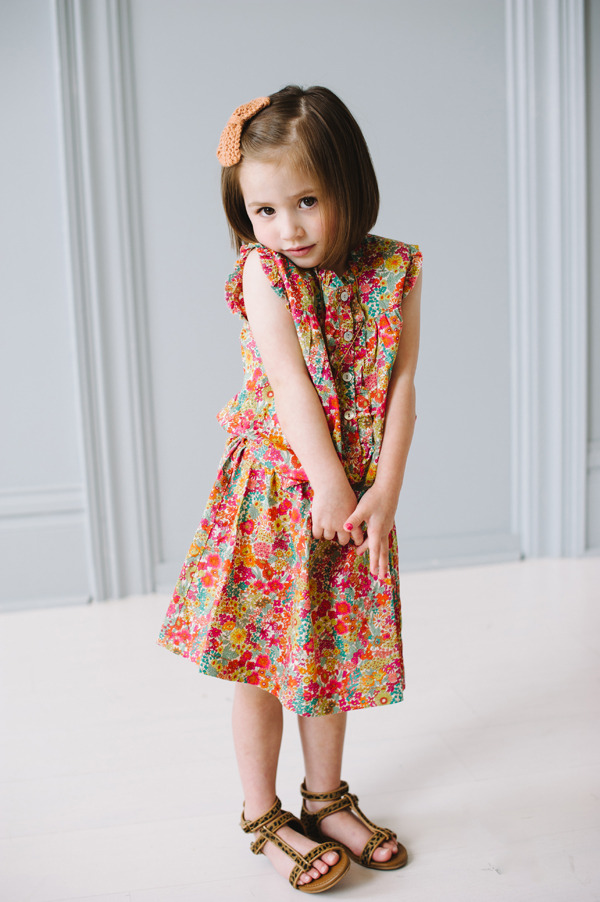 This little darlin' showed off our Kinsey dress.