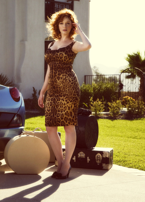 bohemea:  Christina Hendricks by Mike Rosenthal
