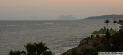karenfosterphoto:  Gibraltar and Africa in the distance