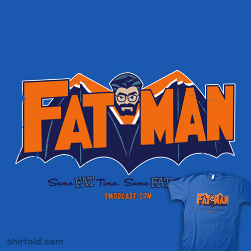 Fatman by Captain RibMan is $10 today only (1/8) at Shirt Punch