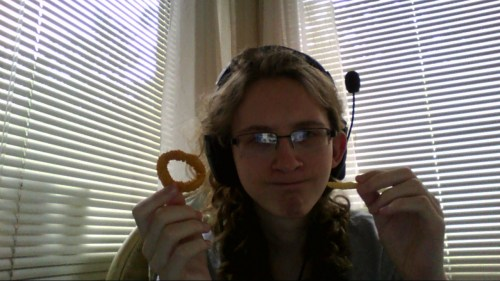 Found a fry in my Burger King onion rings.