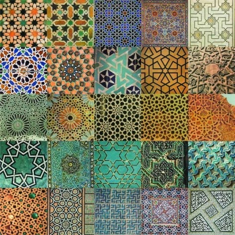 indigenousdialogues:  A mosaic of patterns traditionally used in Islamic architecture around the world.