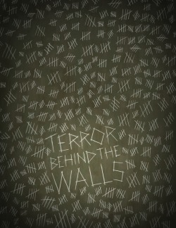 "davidcurtisstudio:  Terror Behind The Walls Design for gift shop of Eastern State Penitentiary's ""Terror Behind The Walls"""
