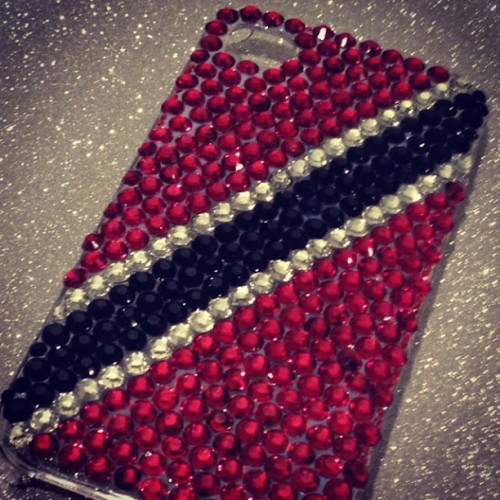 thank you to @jesjene for my new #trinidadandtobago #iphone case  Get your custom case made ! http://www.etsy.com/shop/jesjene
