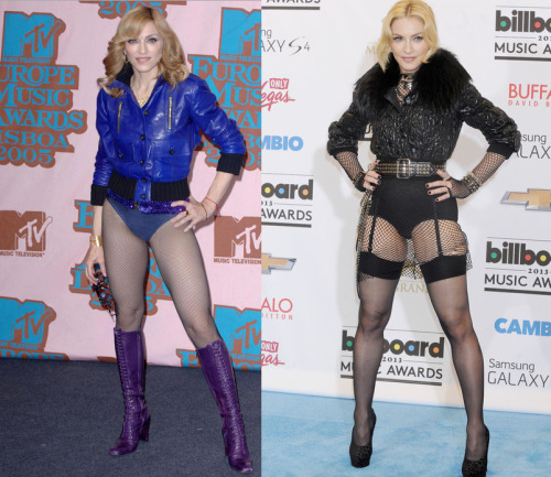 Madonna 2005 VS 2013 Improves with age <3