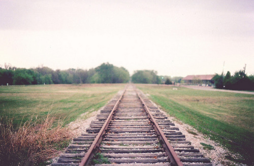 arquerio:  Train Tracks - Film by Rebecca Jenson on Flickr.