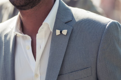 guerreisms:  Don't do pocket-squares - at least dress the lapel.
