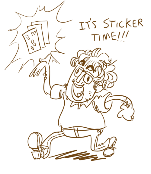 prinpan:  Stickertiiime! I've begun mailing out the stickers for all the Dungeon Panic backers who ordered them. This is something I'm doing on top of my normal duties as the lead artist, so please be patient as I send them out a little at a time.  In other news, a light has appeared at the end of the tunnel, and we are finally clawing our way out of the character animation phase. You will have lots of options for character customization, and the town will be populated by randomized NPCs. Here's a work-in-progress preview of what we've done so far:  We've still got a long way to go before all of this is finished, but we're getting closer to a beta release, which backers will have access to. In the mean time, we're moving on to monsters!   -Severin