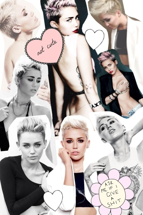 collage-blog:  Miley Cyrus