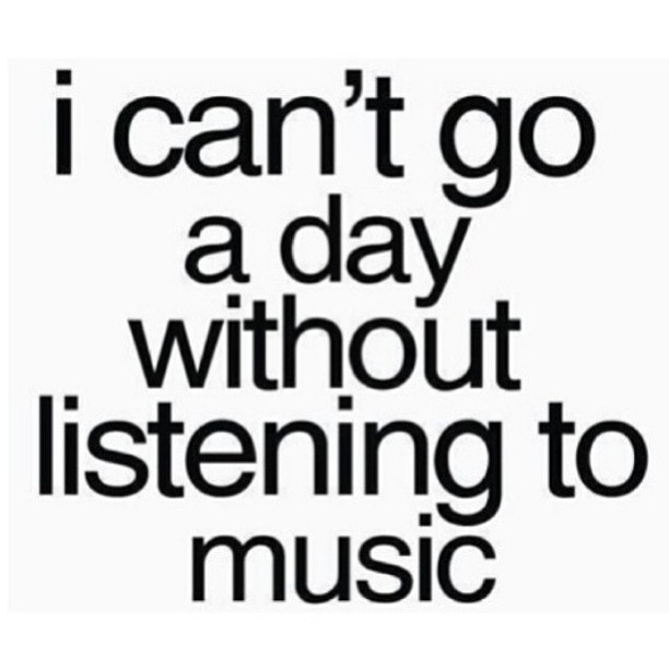 nadinedesire:  Seriously! #musicislife
