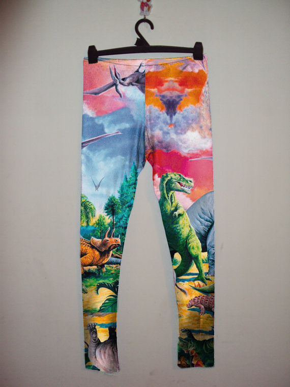 ieffinglovedinosaurs:  interesting leggings