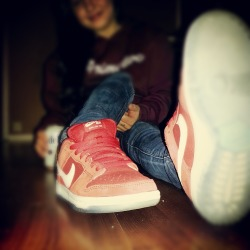 Im pretty fond of my sneakers. ♥