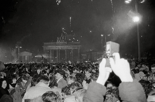 Berlin, Silvester/New Year's Eve 1989