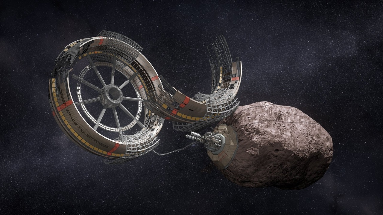 Deep Space Industries plans robotic fleet to mine asteroids  via 2020