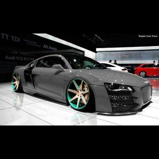 #r8  CHECK OUT #TweakedRevolution its a FREE street racing / car customizing #app for #iOS & #Android. NOW AVAILABLE. #tr #blacklist #carspushingthelimits #amazing_cars #instacar #stancenation #majestic_cars #stance #carporn #canibeat #cargramm  #illest #cars #nextmod #autopeek #2low