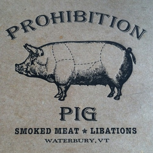 Back at prohibition pig for more BBQ! #Vermont #BBQ