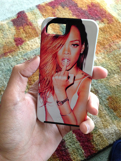 Just ordered my Rihanna iPhone 5 personalized case off of case-mate