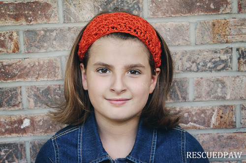Simple Fall Crochet Headband Pattern Rescued Paw Designs Crochet